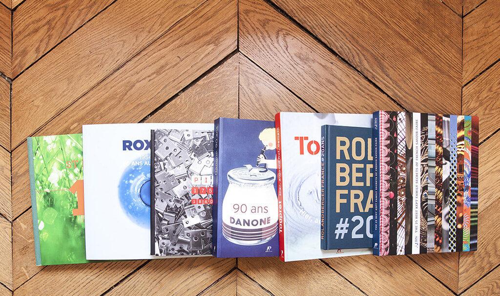 Chaque entreprise a une histoire et mérite un livre