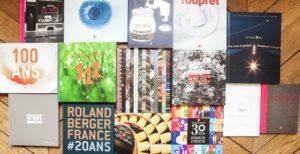 Livres d'entreprise sur mesure, couvertures originales et uniques