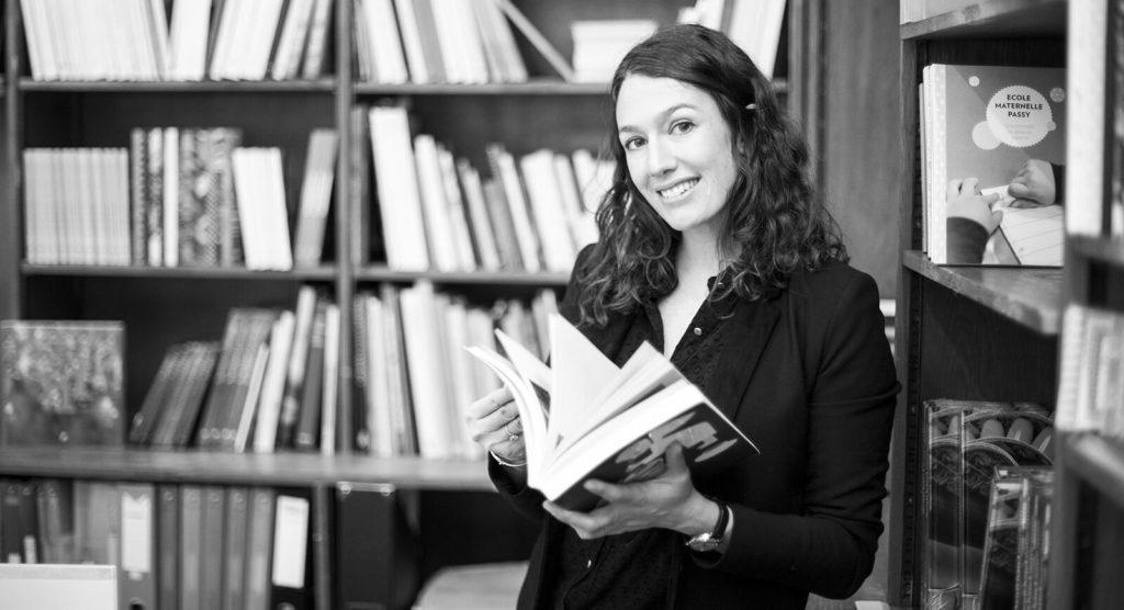 Caroline Albou Levinger Directrice Générale de Porte plume éditions