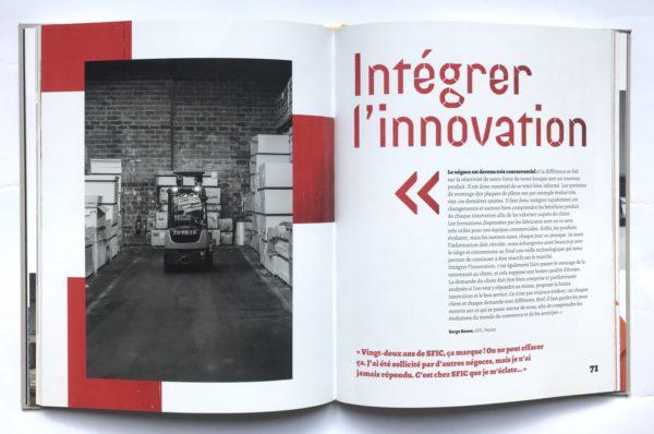 livre d'entreprise SFIC