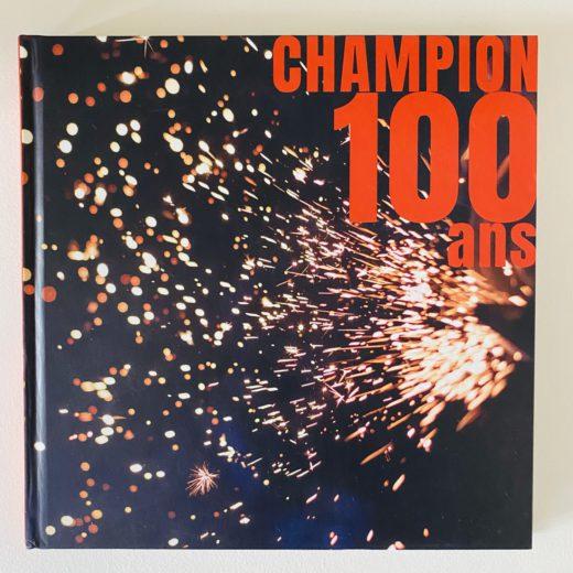couverture livre champion