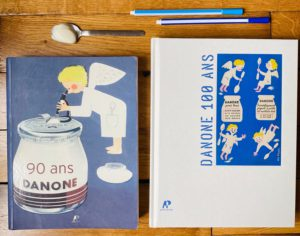 le livre des 100 ans de Danone