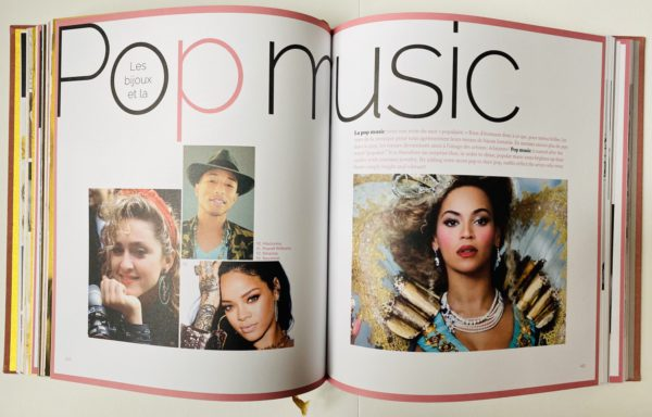 livre bijou fantaisie pop music
