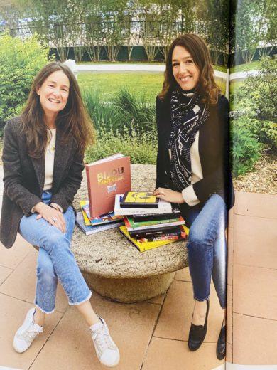 Celine Bouteiller et Caroline Albou PORTEPLUME